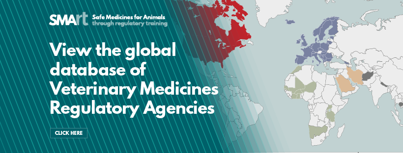 Explore the global database of Veterinary Medicines Regulatory Agencies