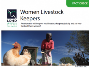 Fact check: women livestock keepers